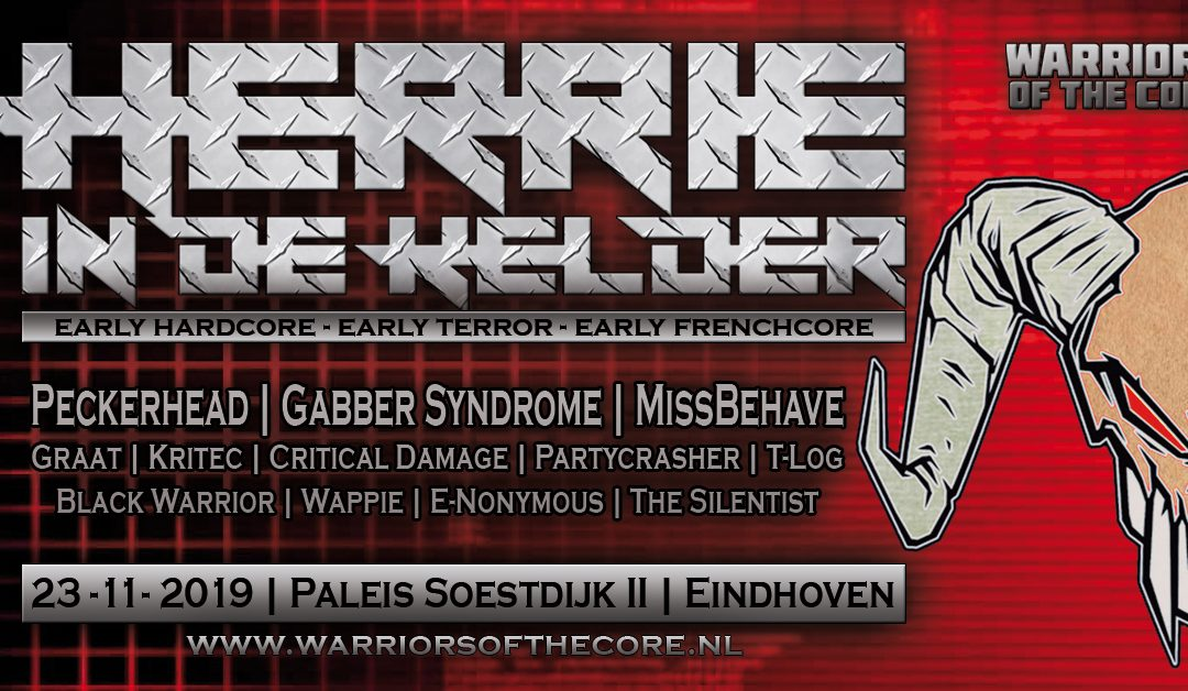 Herrie in de kelder line-up announcement!